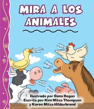 Mira A Los Animales Read-Along eBook & Audio Track