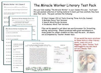 Miracle Worker Test Pack Drama