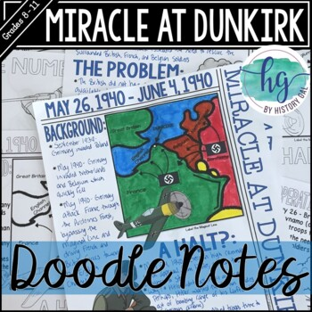 Miracle at Dunkirk (World War II) Graphic Notes