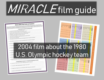 Miracle film guide: background, level 1,2,3 Questions, pri