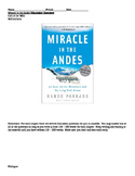 Miracle in the Andes by Nando Parrado Discussion Questions