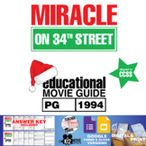 Miracle on 34th Street Movie Guide | Questions | Worksheet (PG - 1994)