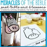 Miracles Bible Unit
