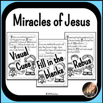 Miracles of Jesus Mini Books