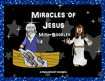 Miracles of Jesus Mini-booklet