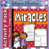 Miracles of Jesus Worksheets