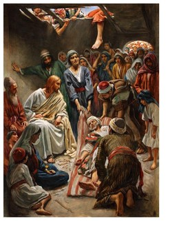 Miracles of Jesus The healing of a paralysed man Word Search