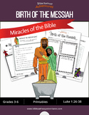 Miracles of the Bible: Birth of the Messiah workbook
