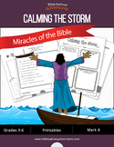 Miracles of the Bible: Calming the Storm workbook