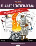 Miracles of the Bible: Elijah and the Prophets of Baal workbook