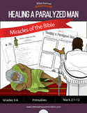 Miracles of the Bible: Healing a Paralyzed Man workbook
