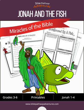 Miracles of the Bible: Jonah and the Big Fish workbook
