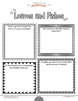Miracles of the Bible: Loaves and Fishes workbook