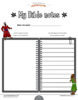 Miracles of the Bible: Moses returns to Egypt workbook