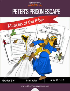 Miracles of the Bible: Peter's Prison Escape workbook