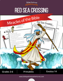 Miracles of the Bible: Red Sea Crossing workbook