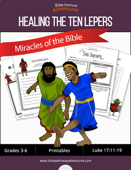 Miracles of the Bible: Ten Lepers workbook