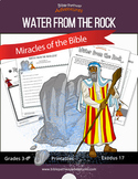 Miracles of the Bible: Water from the Rock (Moses) workbook