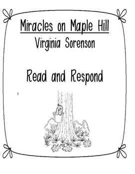 Miracles on Maple Hill Read and Respond