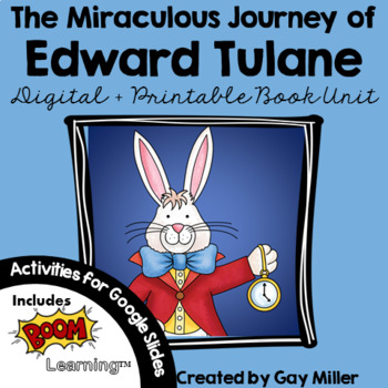 The Miraculous Journey of Edward Tulane [Kate DiCamillo] Book Unit