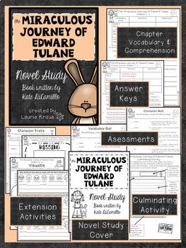 Miraculous Journey of Edward Tulane Novel Study