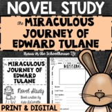 Miraculous Journey of Edward Tulane Novel Study