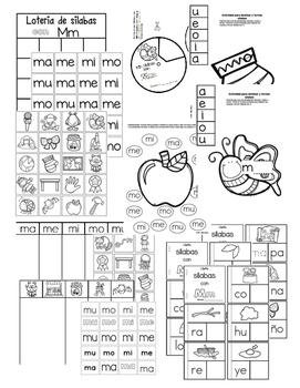 Las silabas con Mm