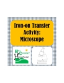 Microscope Science T-shirt or Apron Iron-on Transfer Activity