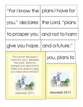 Mirette on the High Wire Bible Verse Printable (Jeremiah 29:11)