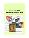 Mirette on the High Wire CALDECOTT for Primary GATE Hands-on with STEM