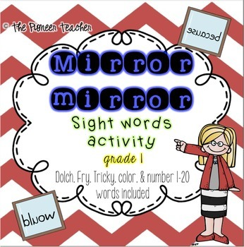 Mirror, Mirror Sight Words - 1st Grade