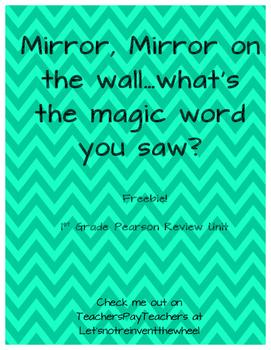 Mirror, Mirror Sight Words