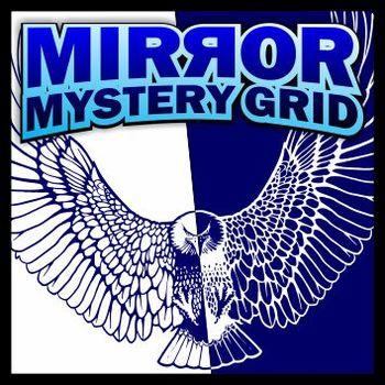 Mirror Mystery Grid Art Puzzle - Bird of Prey
