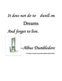 Mirror Quote- Harry Potter
