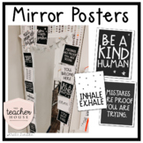 Mirror Quote Posters