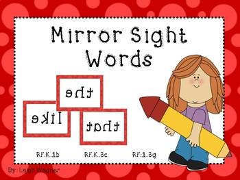 Mirror Sight Words
