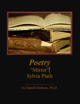 poetic devices used in the poem mirror by sylvia plath