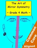 Mirror Symmetry Geometry Lesson - 4th Grade