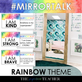 Mirror Talk: (RAINBOW) Growth Mindset, Social Emotional, and Self-Love Activity