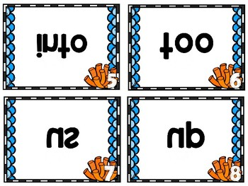 Mirror Words: Ocean Themed Sight Word Activty