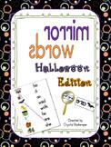 Mirror Words Work Station Halloween