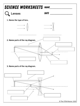 Mirrors and Lenses Worksheets