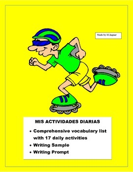 Sports & Daily Activities in Spanish -Actividades Diarias y Deportes -Me gusta