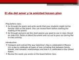 Valentine's Day Spanish Lesson - Día del amor y la amistad