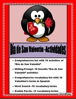 Mis Actividades del Día de San Valentín-AR/ER/IR Practice-Valentine's Day
