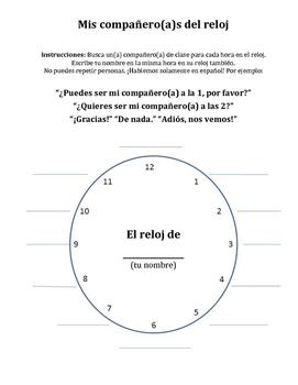 Mis Compañeros del Reloj / Spanish Clock Partners