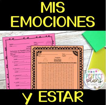 ACTIVITY PACKET FOR - Mis Emociones y ESTAR - PUZZLE, ACTIVITY