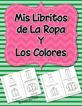 Mis Libritos de La Ropa y Los Colores