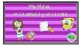 My Goals Mini Book in Spanish