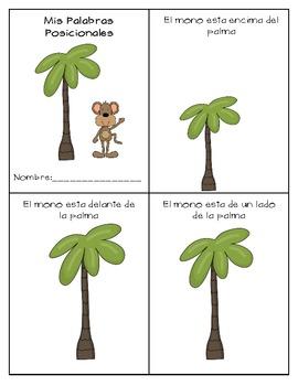 Mis Palabras Posicionales Jungle Theme